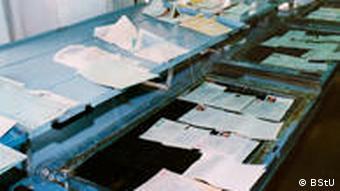 Из выставки архива штази: перлюстрированные письма