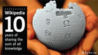 Макет земного шара с изображением букв разных алфавитов - символ Википедии