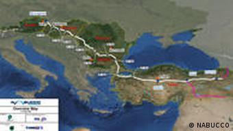 کارشناسان میگویند، خط لوله نابوکو منافع ترکمنستان، ترکیه و ایران را در درازمدت همسو خواهد کرد