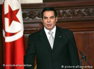 زینالعابدین بنعلی، رئیسجمهوری تونس