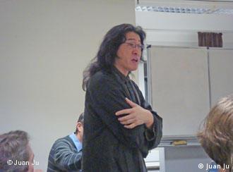 贝岭在科隆大学的读书讨论会上