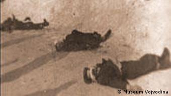 Ermordete Menschen im Schnee (Foto: Museum Vojvodino)