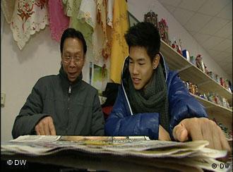 Hoang Quang mit seinem Sohn