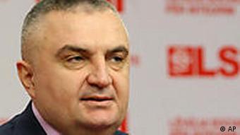 Ilir Meta (Foto:Hektor Pustina/AP/dapd)