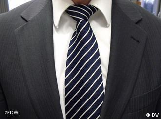 Close-up of a man in a suit