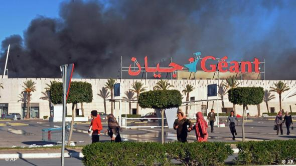 Tunesien Unruhen Flash-Galerie