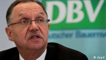 Gerd Sonnleitner, president of the German farmers' association