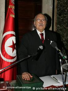 فواد المبزع، رئیسجمهور موقت تونس از عضویت در حزب حاکم کنارهگیری کرد