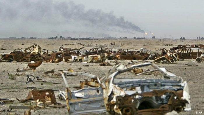 Flash-Galerie 20 Jahre Erster Irakkrieg Ein Rückblick (AP)