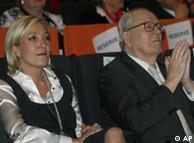 Jean-Marie Le Pen, me të bijën Marine Le Pen