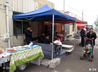 Alles andere als rosig - das Leben dieser Uiguren in Peking