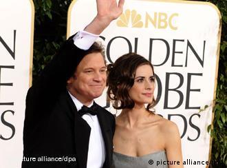 کالین فرت و همسرش به عنوان خوشپوشترین زوج در سال ۲۰۱۱ انتخاب شدهاند