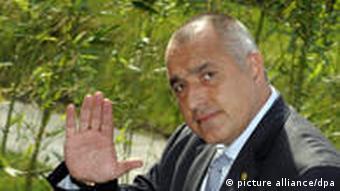 Bulgarien Premierminister Boyko Borisov