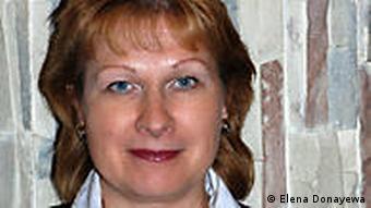 Iran Russland Buchautor Elena Doayewa Porträt (Elena Donayewa)