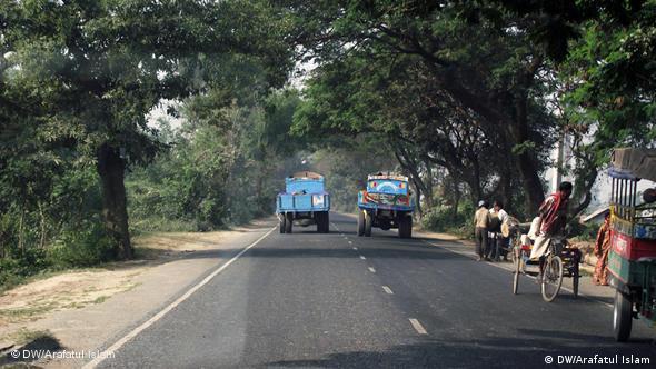 Bangladesh Straße Unfall Flash-Galerie