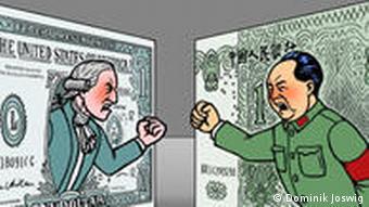 Währungskrieg Dollar Yuan