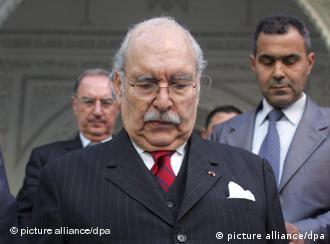 فواد مبزع، رئیس جمهور موقت تونس
