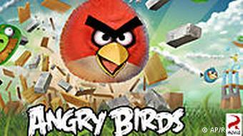 USA Computerspiel Angry Birds smart phone app