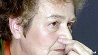 Justizministerin Herta Däubler-Gmelin