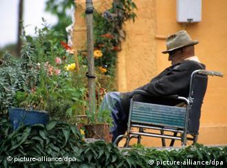 Пенсионер в Испании