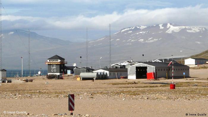 Военная баз в Данеборге, Гренландия (остров является частью Дании).