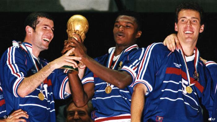 Flash-Galerie Zinedine Zidane WM 1998