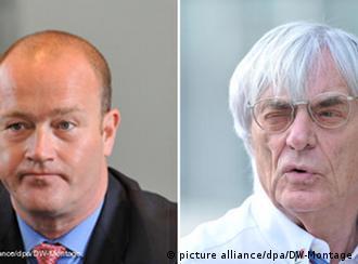 Gerhard Gribkowsky i Bernie Ecclestone