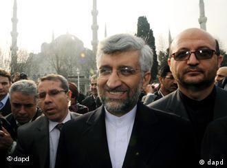 سعید جلیلی، مذاکرهکننده ارشد ایران، در استانبول