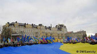 Feierlichkeiten zum Tag der Einigkeit in Kiew