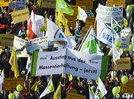 Participantes de protestos em Berlim disseram estar