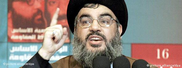 NO FLASH Hisbollah Führer Hassan Nasrallah (picture alliance/dpa)