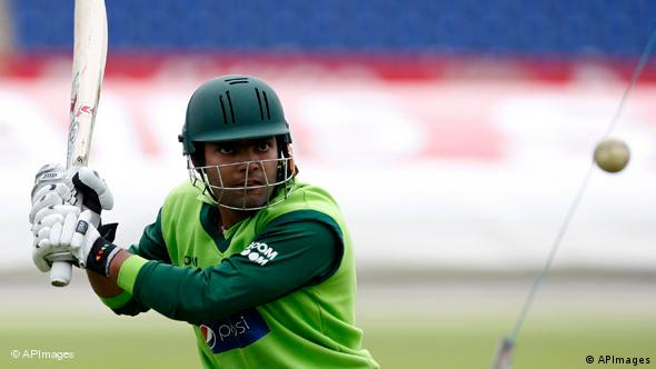 Flash-Galerie Cricket Spieler Pakistan Umar Akmal