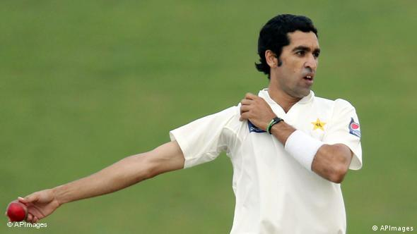 Flash-Galerie Cricket Spieler Pakistan Umar Gul
