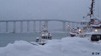 Image of bridge in Tromso