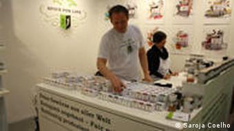 Spice dealer Patrick Hahnel at International Green Week Berlin