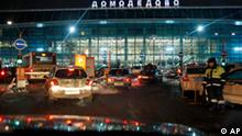 Flughafen Domodedovo nach dem Anschlag Moskau