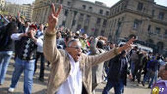 تظاهرات دولتی در قاهره