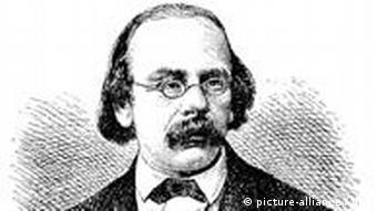 Das zeitgenössische Porträt zeigt den deutschen Kulturhistoriker und Schriftsteller Wilhelm Heinrich Riehl (1823-1897). (Foto: DW)
