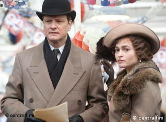Colin Firth i Helena Bonham Carter u filmu The Kings Speech - oboje nominirani za Oscara