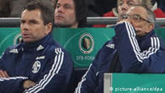 Magath on the bench