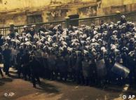 حضور گسترده نیروهای پلیس در خیابانهای قاهره