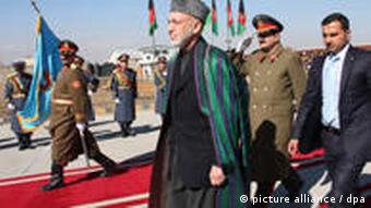 President Karzai opening parliament earlier this year