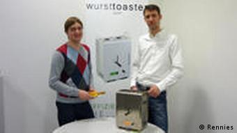 Die Jungunternehmer Felix Rennies und Marco Bruns (Foto: DW/Felix Rennies)