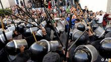 Ägypten Kairo Proteste Demonstranten Polizei