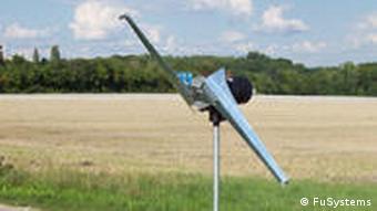 BreezeBreaker in Aktion - die mobile Windkraftanlage von Fritz Unger (Foto: FuSystems)
