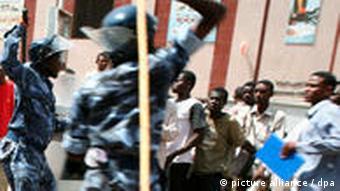 سرکوب معترضان در سودان