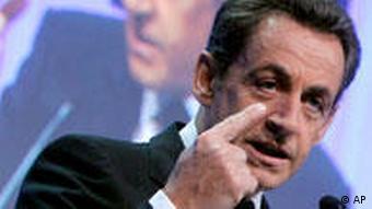 Nicolas Sarkozy in Davos