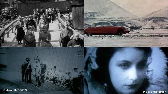 Collage mit vier Filmszenen aus dem Film Das Kino Skandinaviens aus Das Jahrhundert des Kinos (Foto: absolut medien)