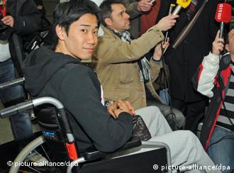 Borussia Dortmund and Japan's Shinji Kagawa