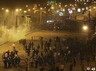 تظاهرات شبانه در سوئز